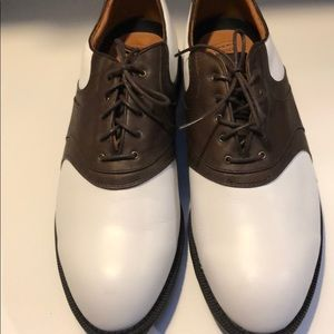 Nike Air leather golf shoes new never worn!